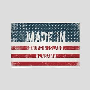Made in Dauphin Island, Alabama Magnets