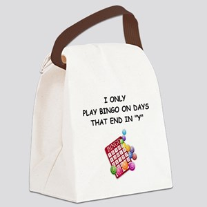 BINGO3 Canvas Lunch Bag