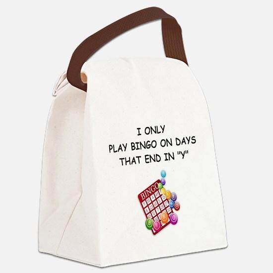 BINGO3 Canvas Lunch Bag