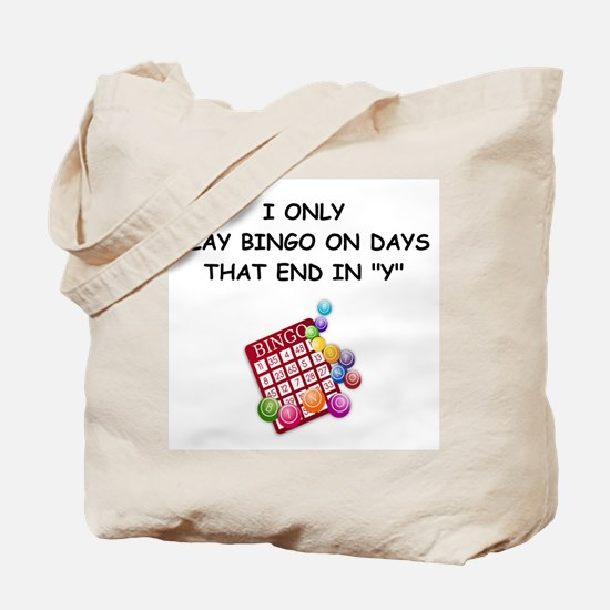 BINGO3 Tote Bag