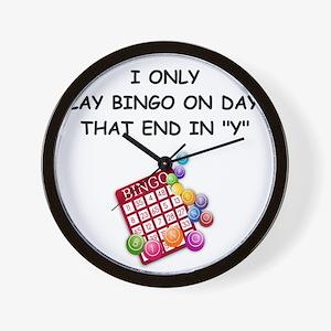 BINGO3 Wall Clock