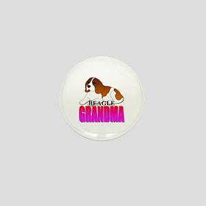 Beagle Grandma Mini Button