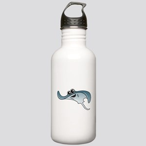 Cartoon Stingray Stainless Water Bottle 1.0L