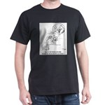 Peeping Tom With a Microscope Dark T-Shirt