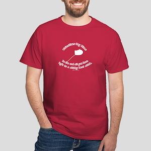 Valentines Day Bites Dark T-Shirt