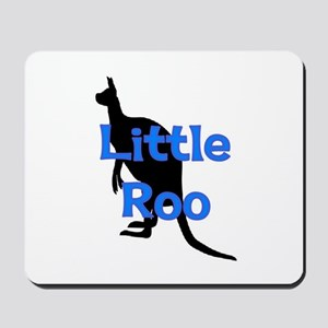 LITTLE ROO (BLUE) Mousepad