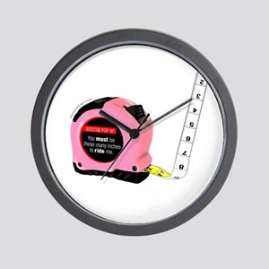 12 Inches or more: You must be these ma Wall Clock