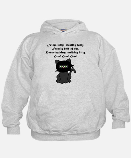 Ninja Kitty Hoody