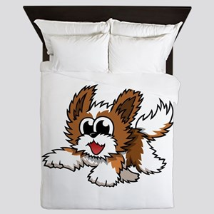 Cartoon Shih Tzu Queen Duvet