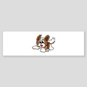 Cartoon Shih Tzu Sticker (Bumper)