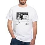 Space Alien Teacher White T-Shirt