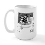 Space Alien Teacher Large Mug