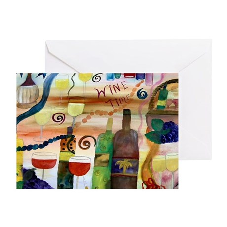 Wine Time Greeting Cards (Pk of 10)