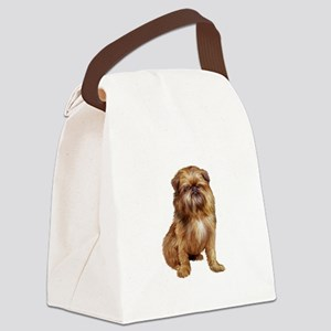 Brussels Griffon (#1) Canvas Lunch Bag