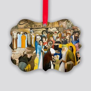 Jerusalem Wailling Wall Picture Ornament