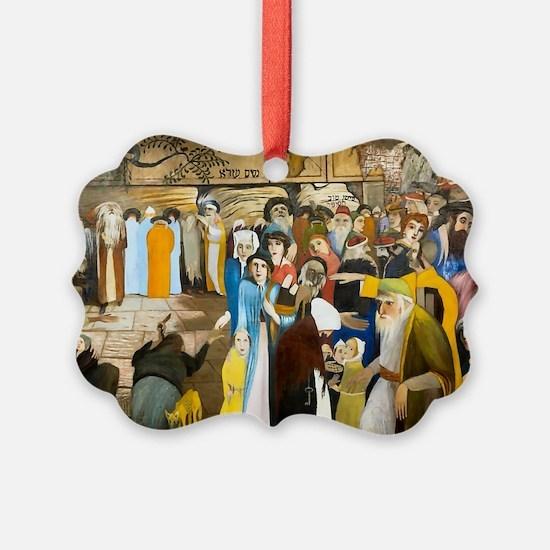 Jerusalem Wailling Wall Ornament