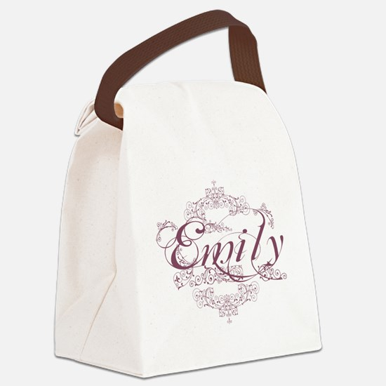 Emily Canvas Lunch Bag