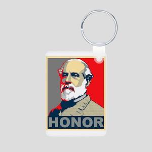 Robert E. Lee 2 Aluminum Photo Keychain