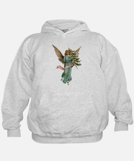 Vintage Angel with Tree Hoodie
