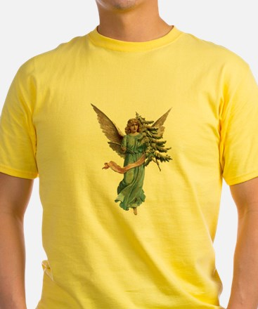 Vintage Angel with Tree T-Shirt