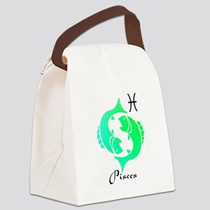 Pisces Canvas Lunch Bag
