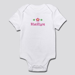 "Pink Daisy - ""Kailyn"" Infant Bodysuit"