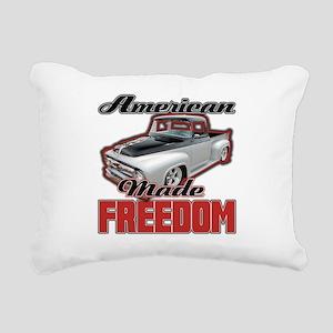 American Made Rectangular Canvas Pillow