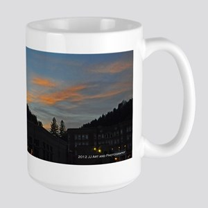 Deadwood Sunset Large Mug