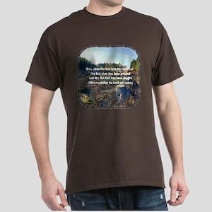 Last Tree Cut Dark T-Shirt
