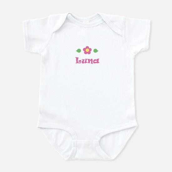 """Pink Daisy - """"Luna"""" Infant Bodysuit"""