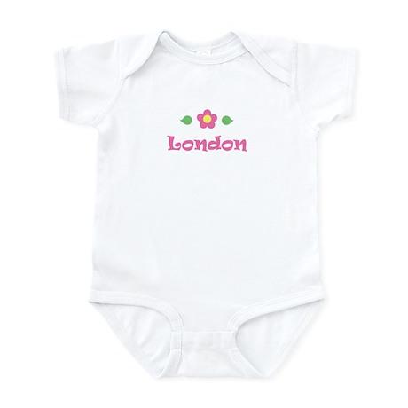 "Pink Daisy - ""London"" Infant Bodysuit"