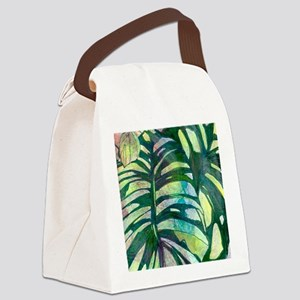Hostas, Version I Canvas Lunch Bag
