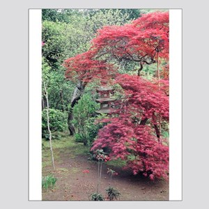 Red maples ishidoro Posters