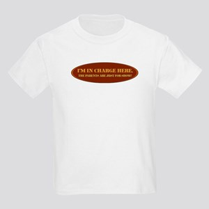 I'm In Charge Kids T-Shirt