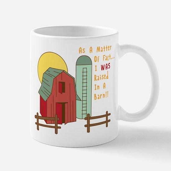 Raised in a Barn Mugs