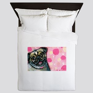 Pug Love Queen Duvet