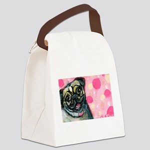 Pug Love Canvas Lunch Bag