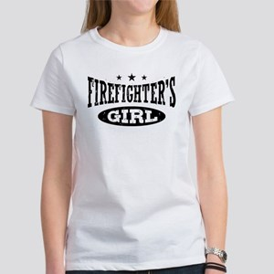 Firefighter's Girl Women's T-Shirt
