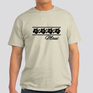 B & W Maui Hibiscus Light T-Shirt