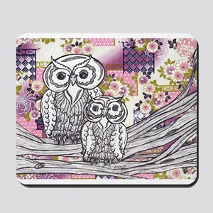 Chinese Paper Owls 13 Mousepad