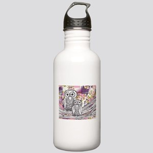 Chinese Paper Owls 13 Sports Water Bottle