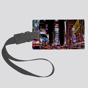 Time Square Large Luggage Tag