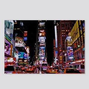 Time Square Postcards (Package of 8)