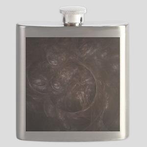 Blended Trace Fractal Flask