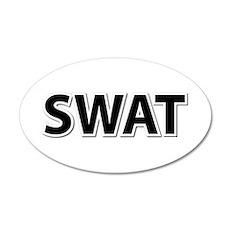 SWAT - Black Wall Decal