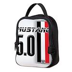 mustang5.0BWR Neoprene Lunch Bag
