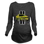 camaroyellow Long Sleeve Maternity T-Shirt