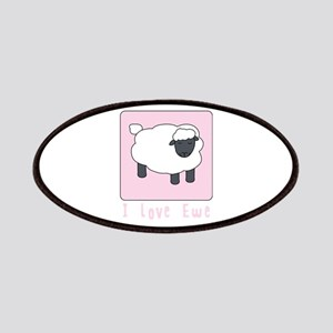 I Love Ewe Patches