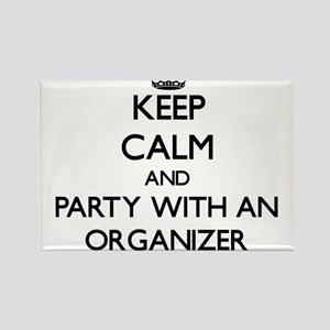 Keep Calm and Party With an Organizer Magnets