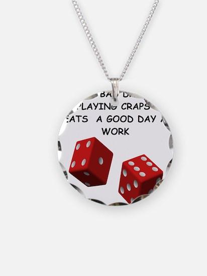 CRAPS2 Necklace